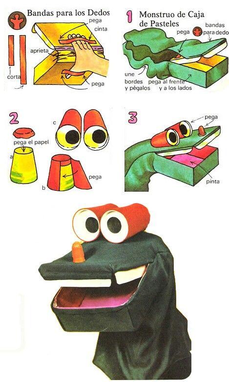 Titere con reciclaje | marionetas y titeres | Pinterest | Como hacer ...