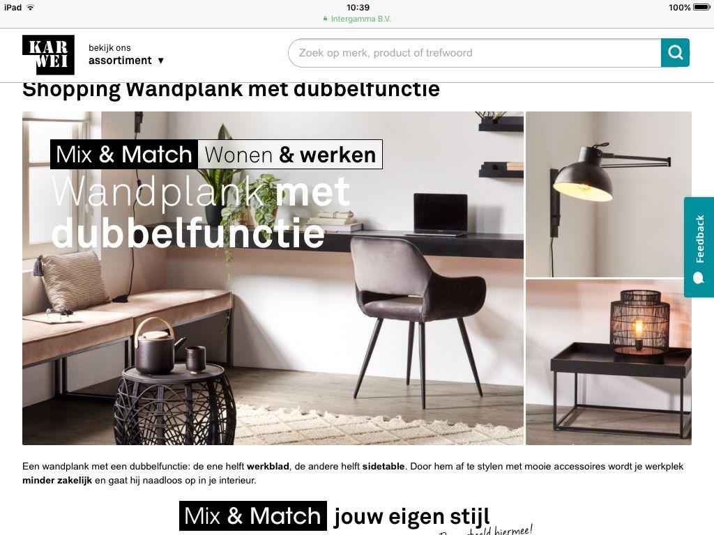 Wandplank Als Bureau.Wandplank Als Bureau Logeerkamer In 2019 Office Desk