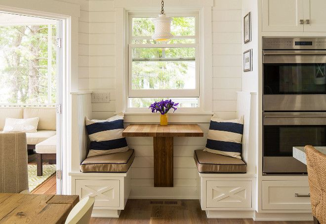 Kitchen Nook For Two Cozy Beside Dining Area This Is Perfect A Quiet Coffee Time With The Paper Or Tablet