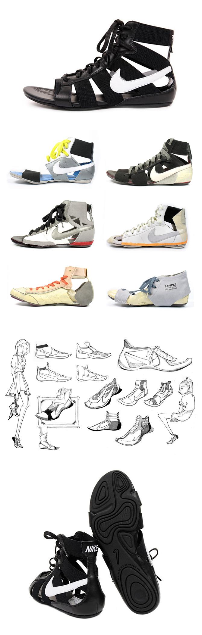 2c31ba6febe7 Nike Gladiateur - Nancy Wu Design