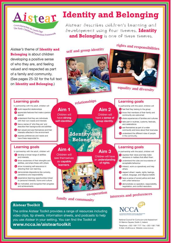 aistear  the early childhood curriculum framework