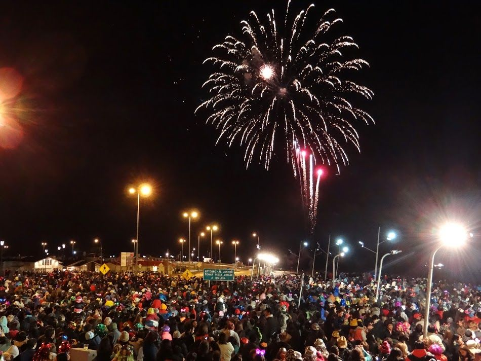 New Year's Eve in Punta Arenas, Patagonia, Chile ...