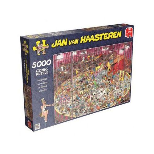 Legpuzzel 5000 Stukjes Jan Van Haasteren Circus Legpuzzels