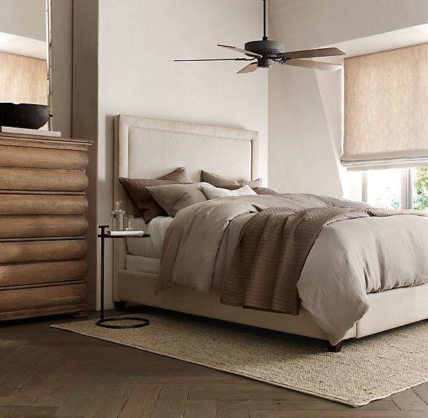 Bistro Ceiling Fan Galvanized Steel Comfy Bedroom Restoration