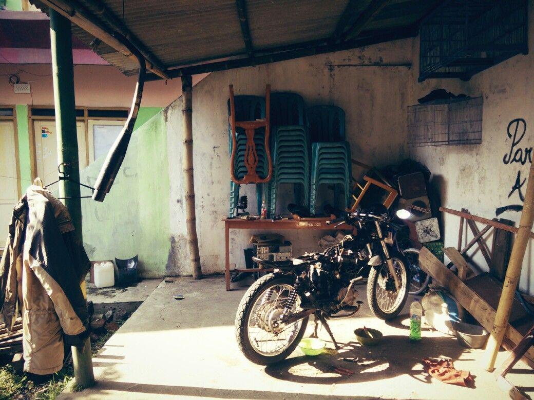 caferacer #cafe #racer #brat #honda #megapro #diy #indonesia #150