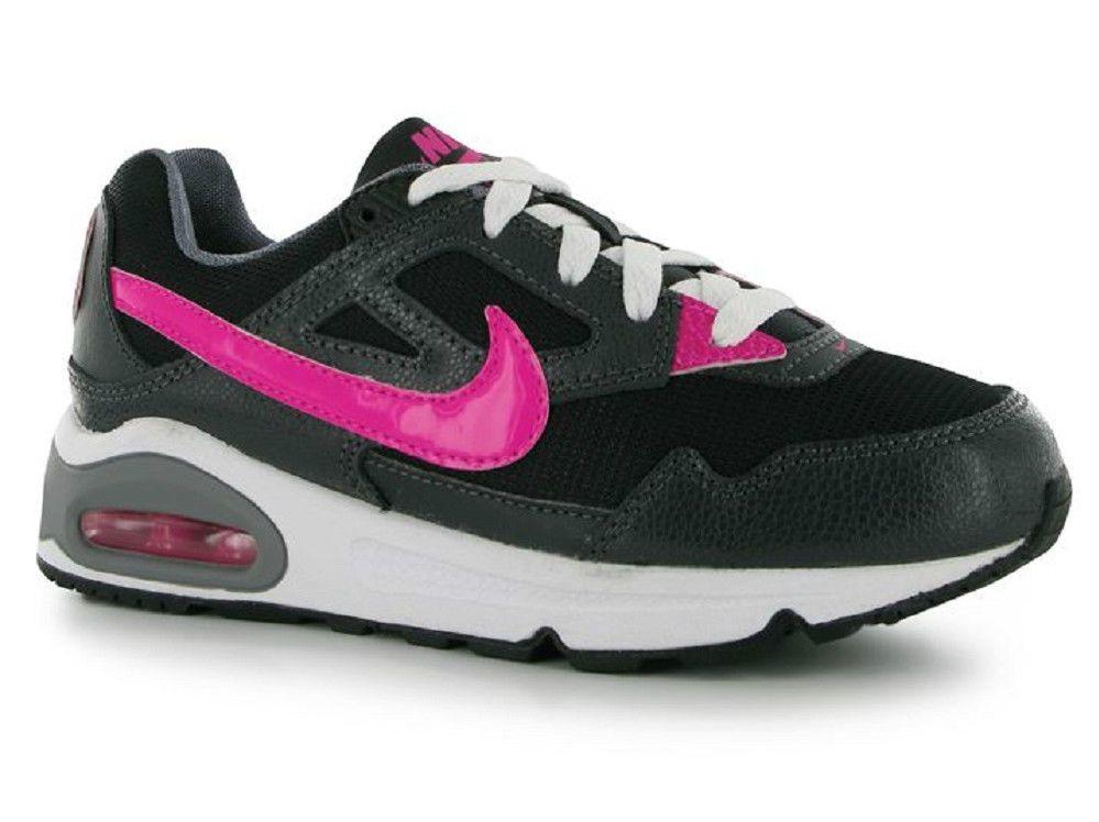 Nike Air Max Skyline Older Girls Womens Trainers Pink Black UK size 2 EU 34  NEW