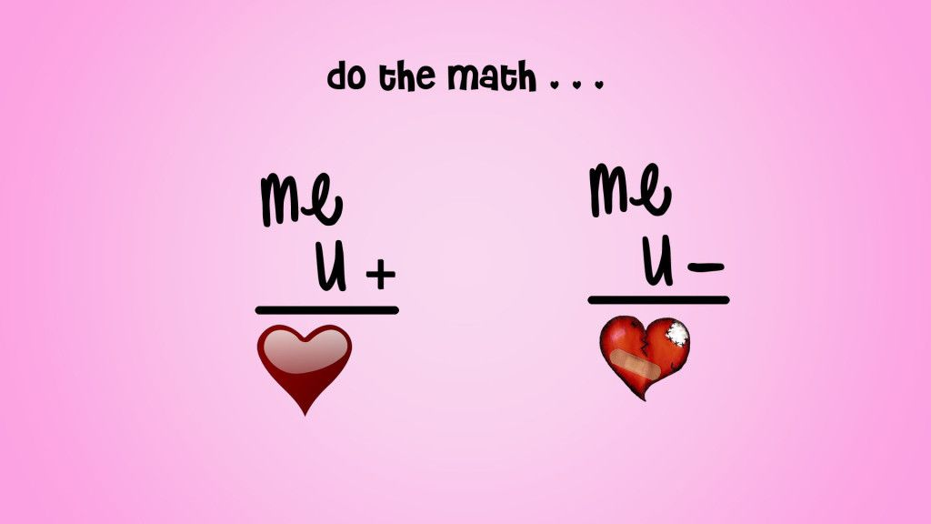 Funny Love Quote and Maths - Do the math... - InspiringWallpapers ...