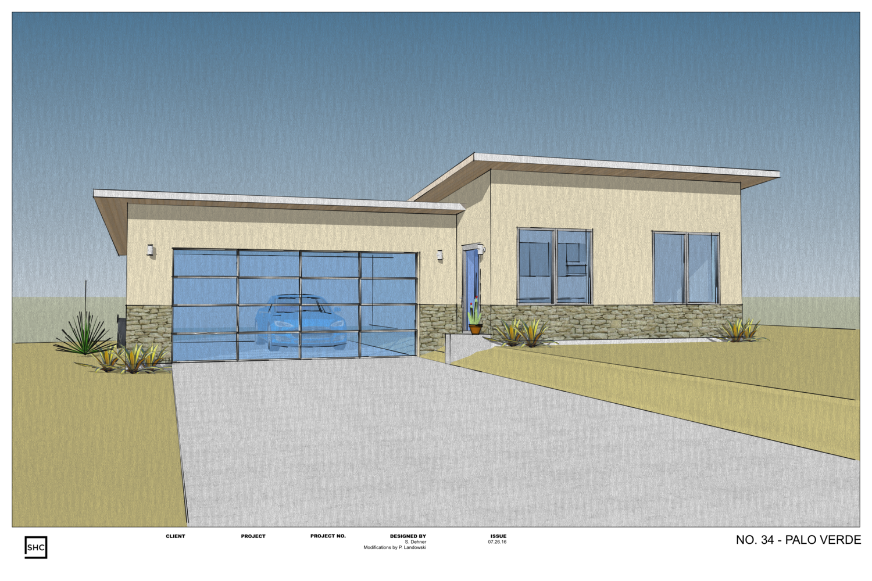 No. 34 - Palo Verde House Plan