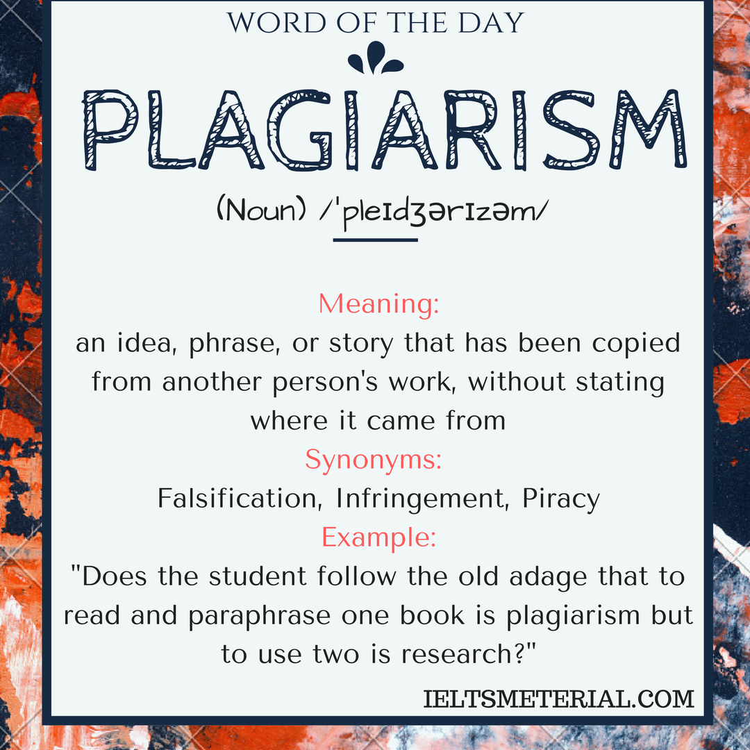 Word Of The Day Improve Your Vocabulary Paraphrase Meaning Origin