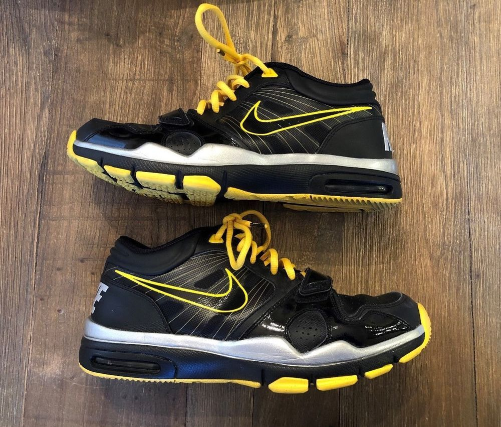 pretty nice 3343a 1c0e0 RARE Size 9.5 Men s Nike Trainer 1.2 Mid FLYWIRE LIVESTRONG Shoes 414860-018