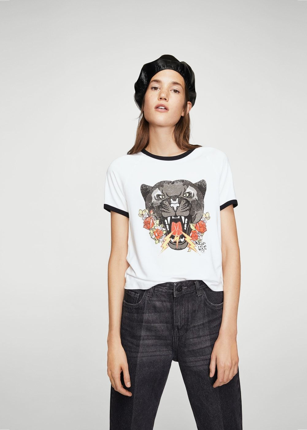 Mujer 2019Tareas Estampado Camisetas Camiseta Animal En OPkX8nw0