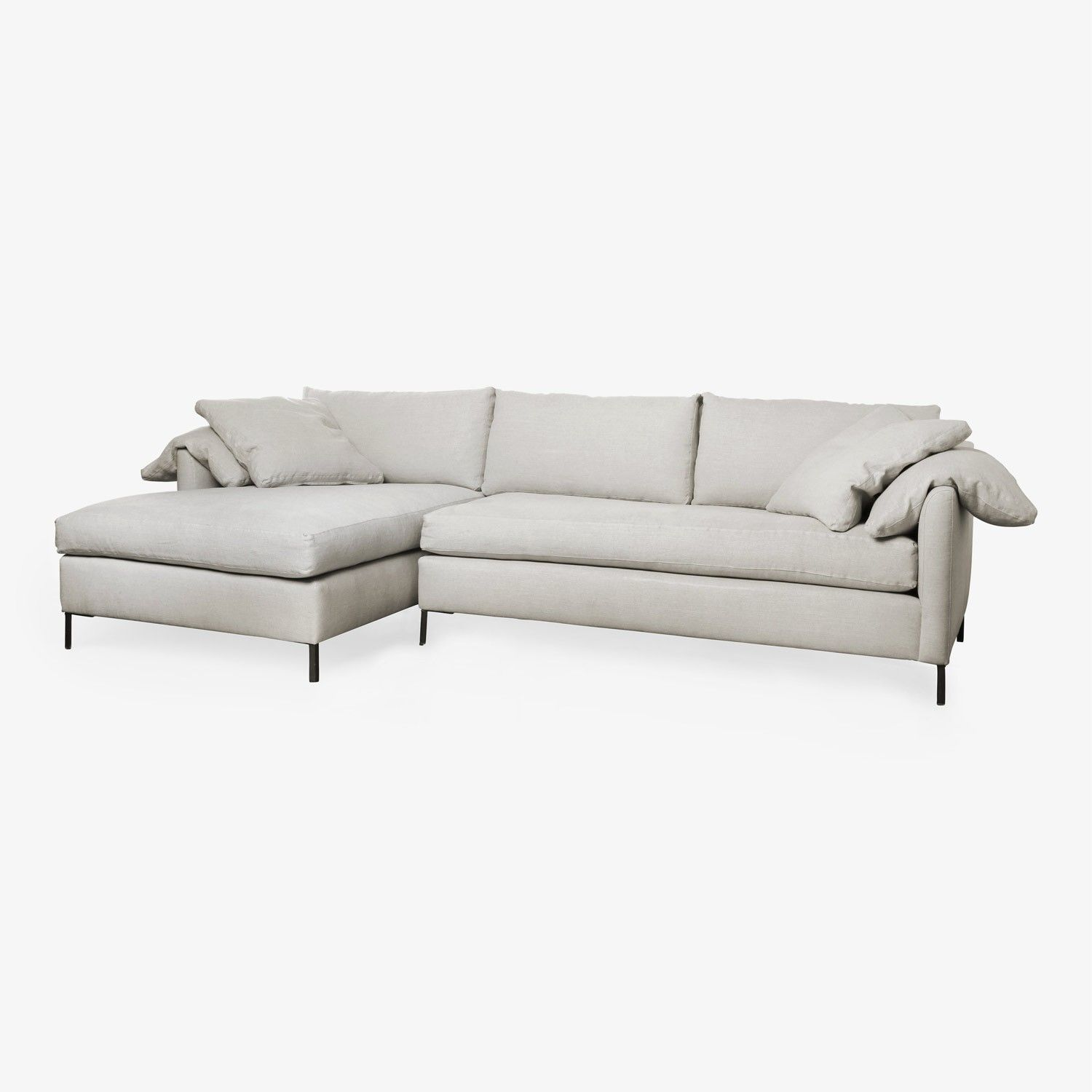 Cisco Pure Radley Sofa Left Arm Chaise Sectional In 2020 Modern