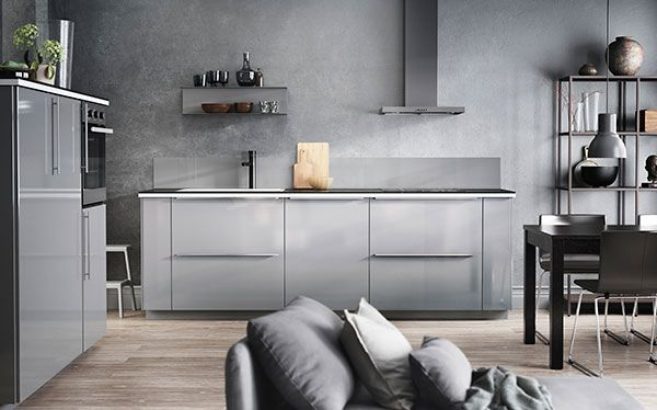 Ikea Ringhult fitted kitchen Kitchen Pinterest Fitted kitchens