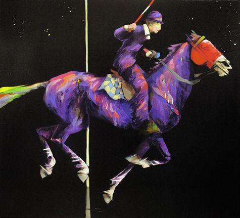 Night Ride Home - Indigo Rising by Aaron Kinnane