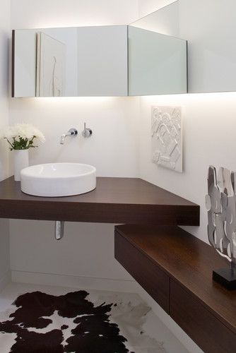 Side Drawers As Bottom Shelf For Bathroom Corner Bathroom