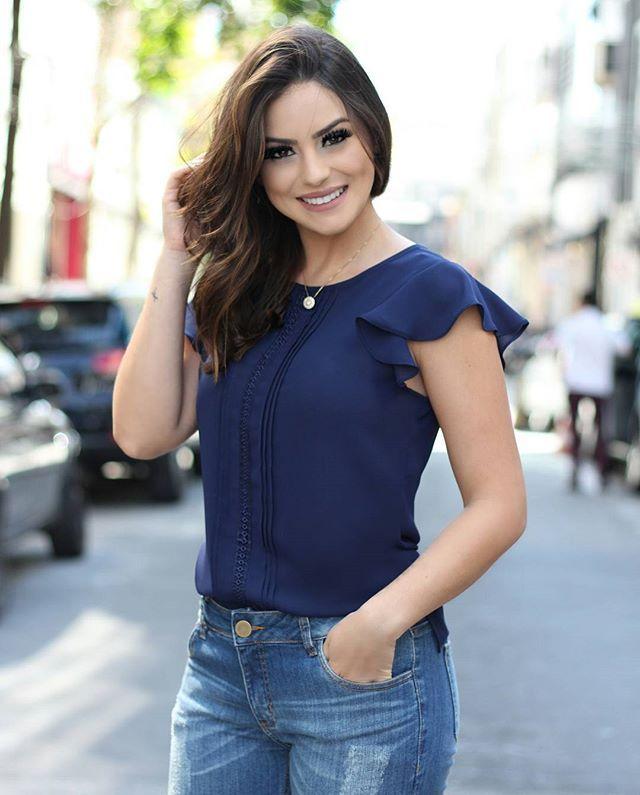 e8aa437f3d WEBSTA   doceflorsp -  Preview Summer  Detalhes desta blusa super delicada!
