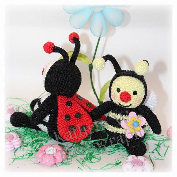 Häkelanleitung Kleiner Marienkäfer Ladybug Pikapolonica čebele