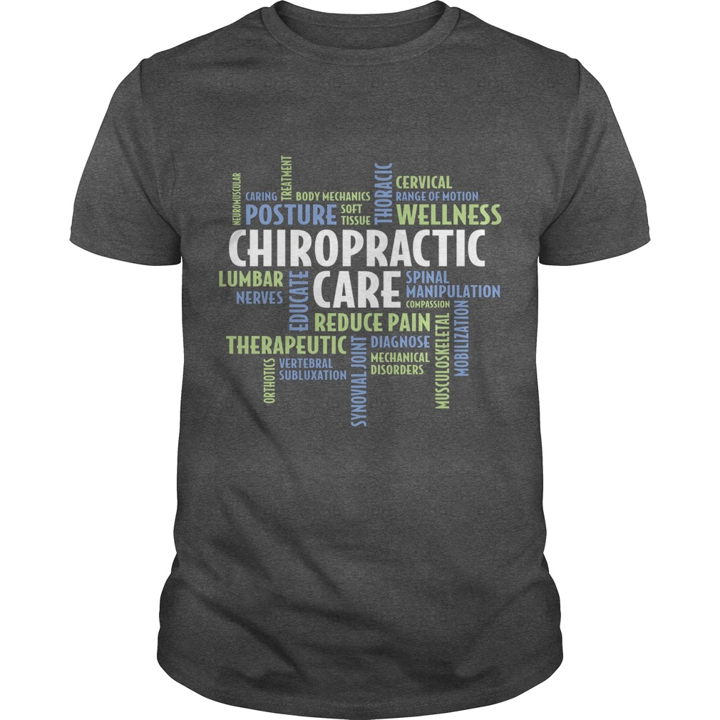 Chiropractor t shirt for national chiropractic health