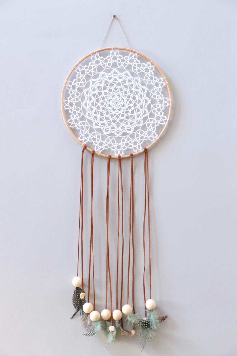 DIY: Cazador de Sueños de ganchillo | La Bici Azul: Blog de decoración, tendencias, DIY, recetas y arte