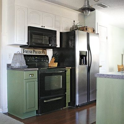 A Farmhouse Kitchen Redo For 564 Black Appliances