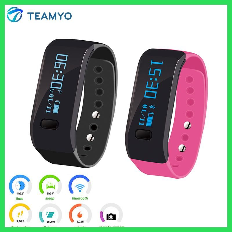 172787d759f0 Teamyo A1 Waterproof Bluetooth Smart band wristband Wearable devices ...
