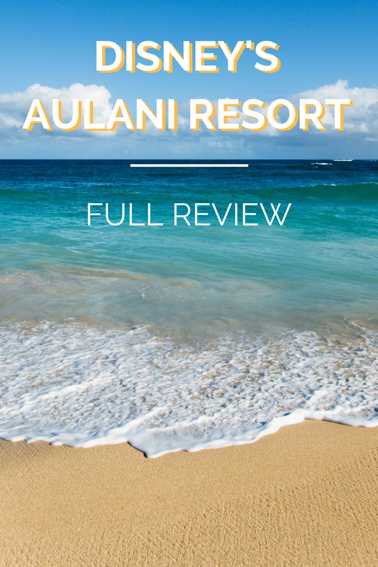 Full Aulani Review Disney hawaii aulani, Disney vacation