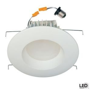 Commercial Electric 6 in. Recessed White LED Retrofit Trim-HCCER673WH at The Home Depot  sc 1 st  Pinterest & Commercial Electric 6 in. Recessed White LED Retrofit Trim ... azcodes.com
