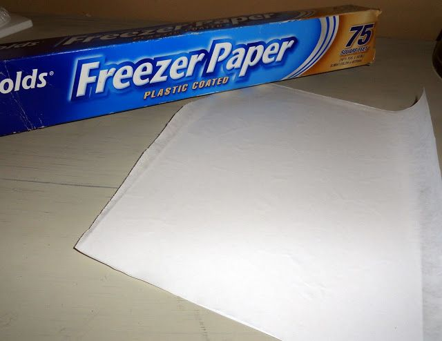 Holy Craft: Freezer paper burlap bunting banner