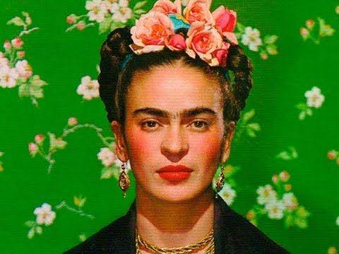 Frida Kahlo Breve Biografia Y Su Obra Subtitulos En Ingles Ideal Para N Frida Kahlo Fotos Frida Kahlo Dibujo Frida Khalo