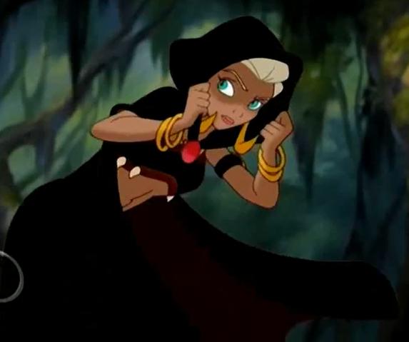Queen La In Hood Opar Tarzan