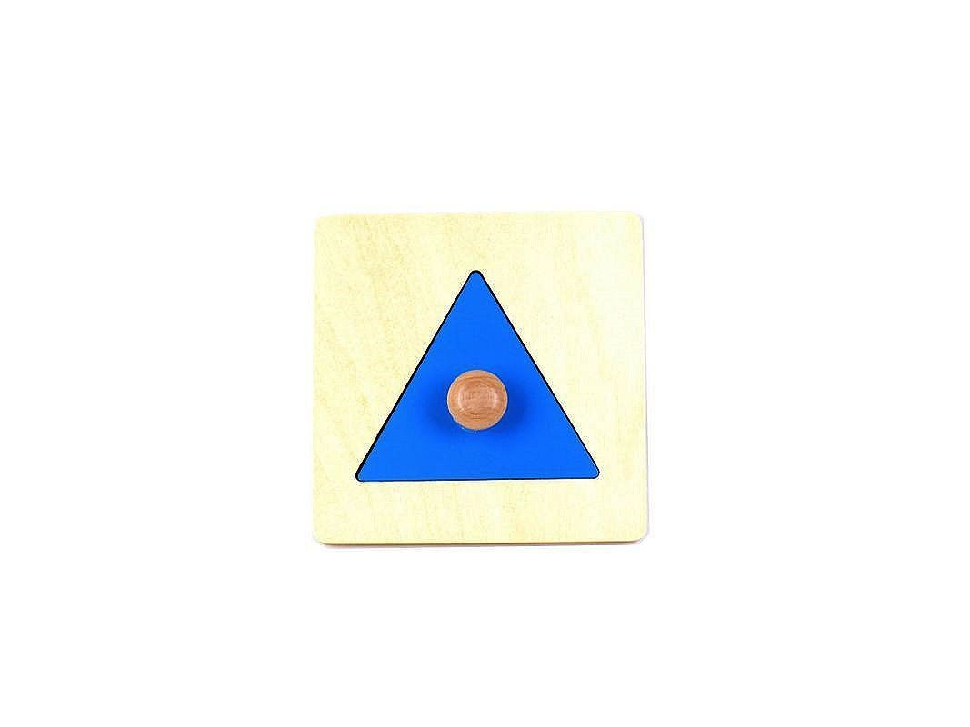 Triangle Puzzle with Large Knob