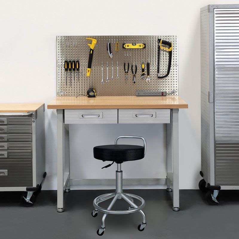 UltraHD Stainless Steel Pegboard Workcenter Could Be The Next Piece To  Compliment Your Garage Or Work