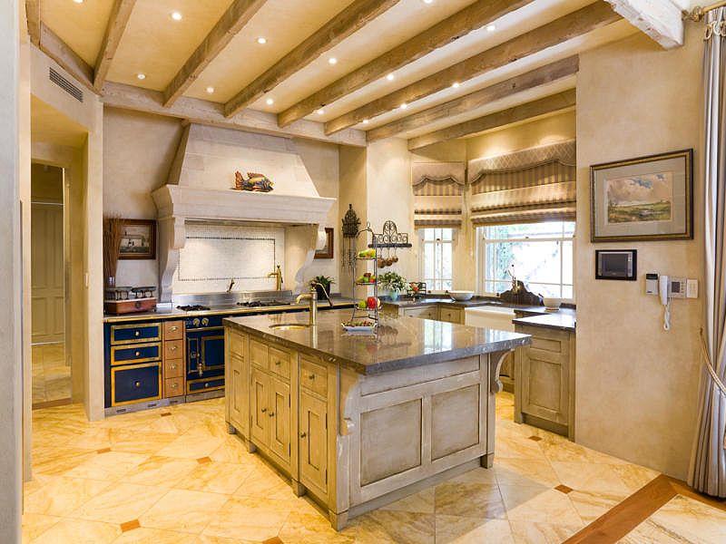 French limestone kitchen canopy - Mornington Peninsula   French ...