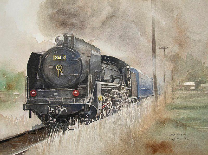[ SL ] Watercolor D51 水彩 2012年. Masato's Watercolor