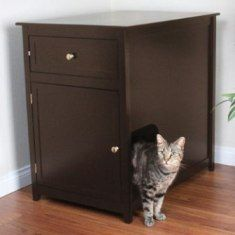 Covered Cat Boxes Petco | Cat Litter Box Furniture | Covered Cat Litter Box