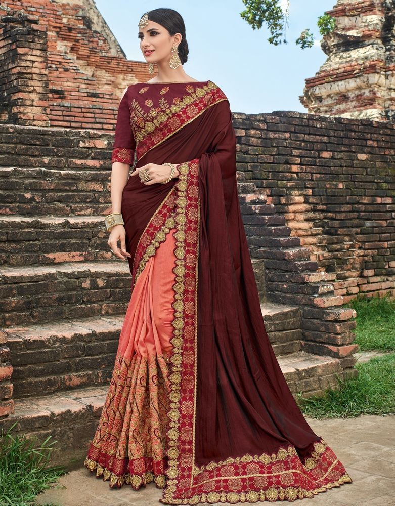 2a133a013527b8 Indian Designer Saree Sari Traditional Indian Ethnic Embroidered Bollywood  Party  saree  sari  designer  wedding  embroidered  embellished  traditional  ...