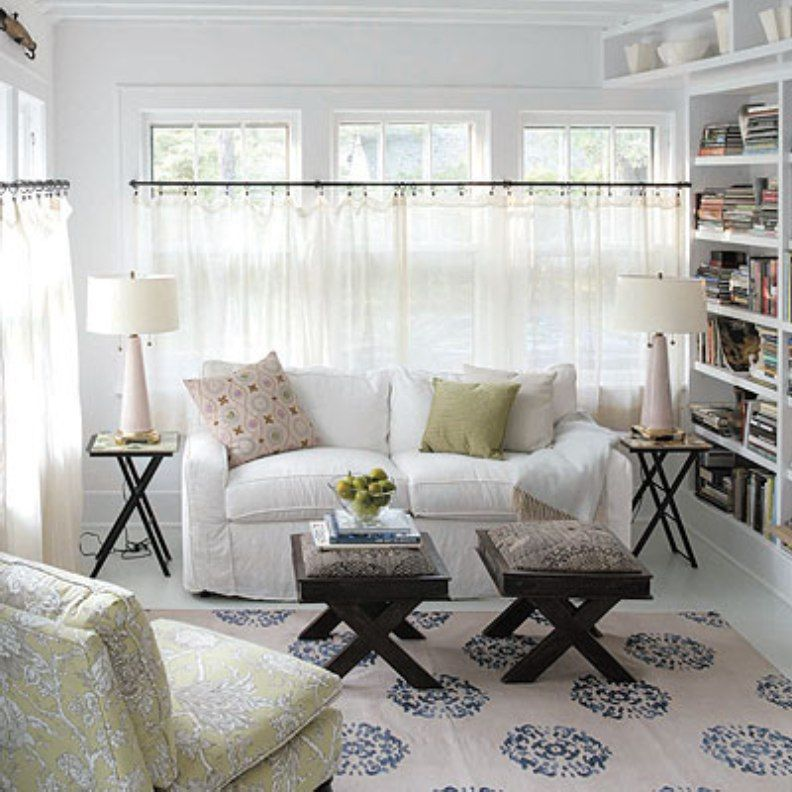 White Cafe Curtains For Living Room Our House Pinterest White Cafe Cafe Curtains And Room