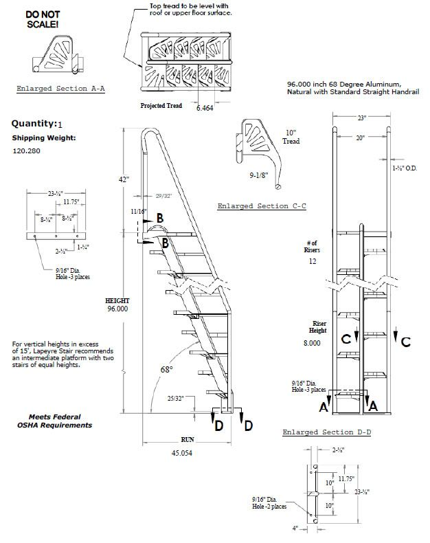Image Result For Ship Staircase Dimensions Arch