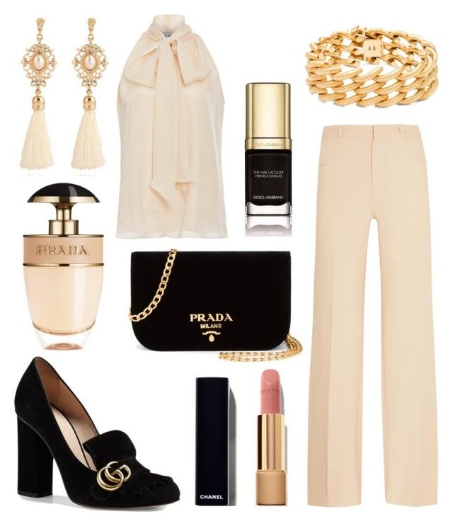 """346"" by robertaelisa ❤ liked on Polyvore featuring Prada, Roland Mouret, Prabal Gurung, Gucci, Dolce&Gabbana, Chanel and Blue Nile"