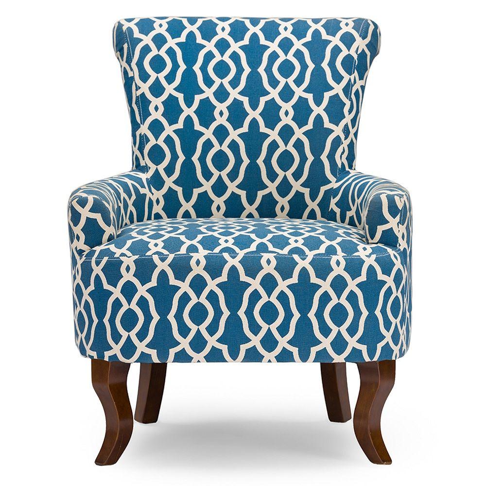 Blau Muster Akzent Stuhl Blau Muster Akzent Stuhl Holen Sie Sich Eine Angenehme Atmosphare Mit Aktuellen Blue Muster Akze Armlehnen Blau Muster Sessel Blau