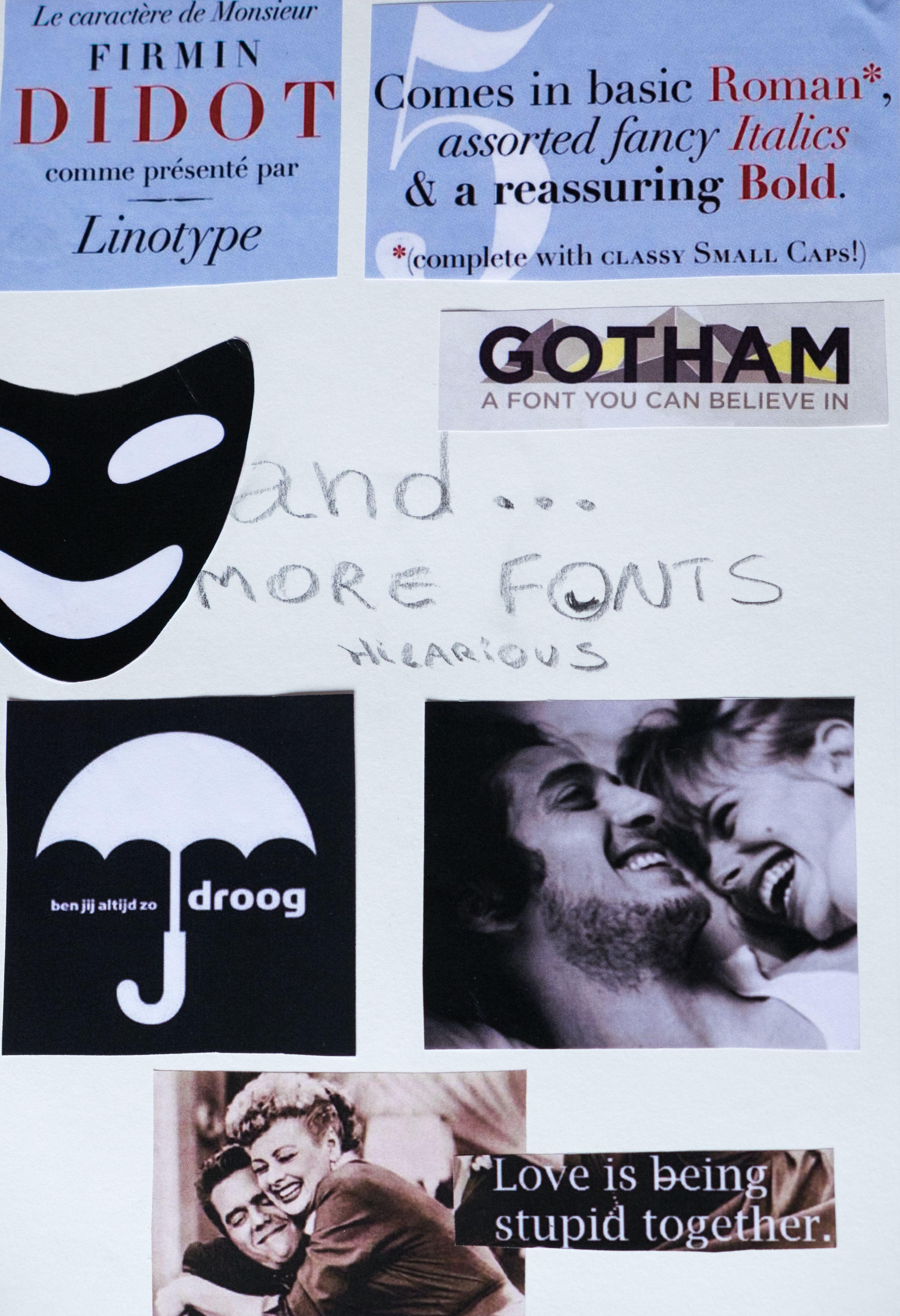 Pagina 5 fonts -Didot font : vb comedies: 'Hitch', 'Something Borrowed', 'Think Like a Man' - Gotham font (geometric sans serif digital font by American Tobias Frere-Jones (2000)) Vb. comedies: 'Bridesmaids', 'That Awkward Moment'