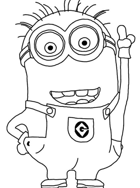 Minion Coloring Pages Party Favors Pinterest Woodworking