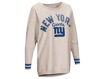 New York Giants Touch by Alyssa Milano NFL Women s Touch Backfield Long  Sleeve T-shirt f73c65643