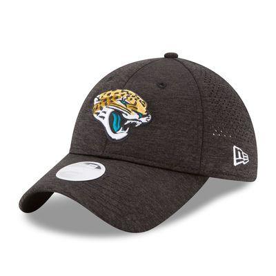 sports shoes 50383 f0b18 Jacksonville Jaguars New Era Women s 2017 Training Camp Official 9TWENTY  Adjustable Hat - Black