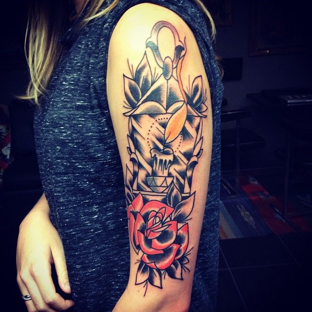 Cool Upper Arm Tattoos For Women