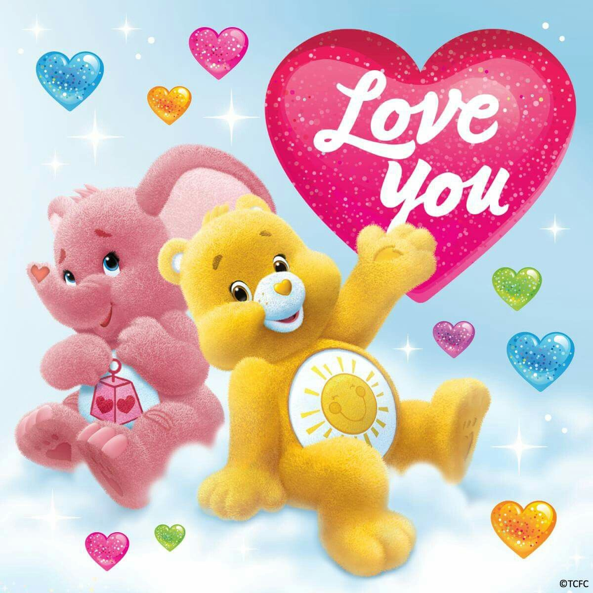 Care Bears Care bear party, Bear coloring pages, Care