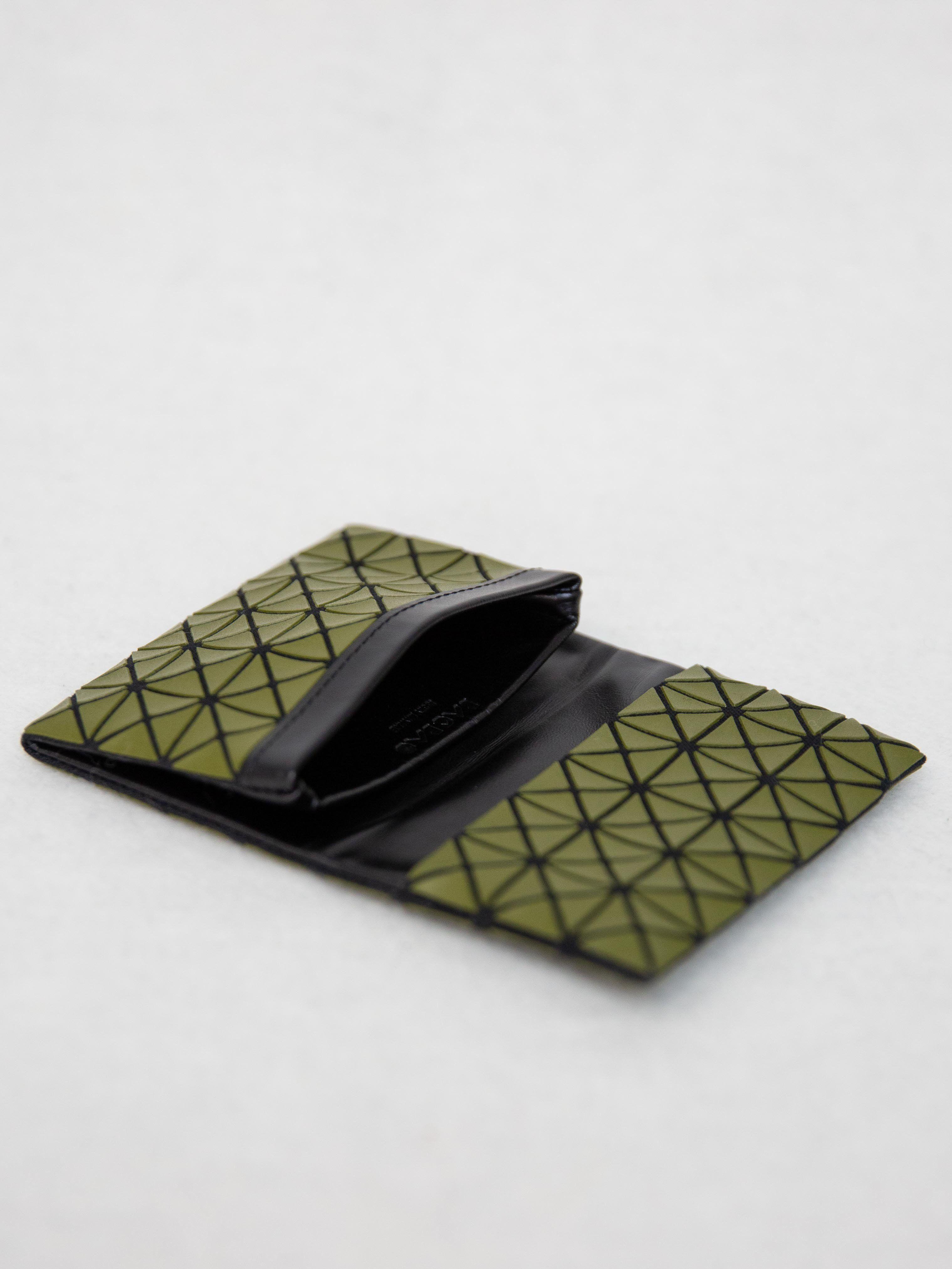 dc917b52d3a0 BAO BAO ISSEY MIYAKE Oyster Card Holder - Khaki