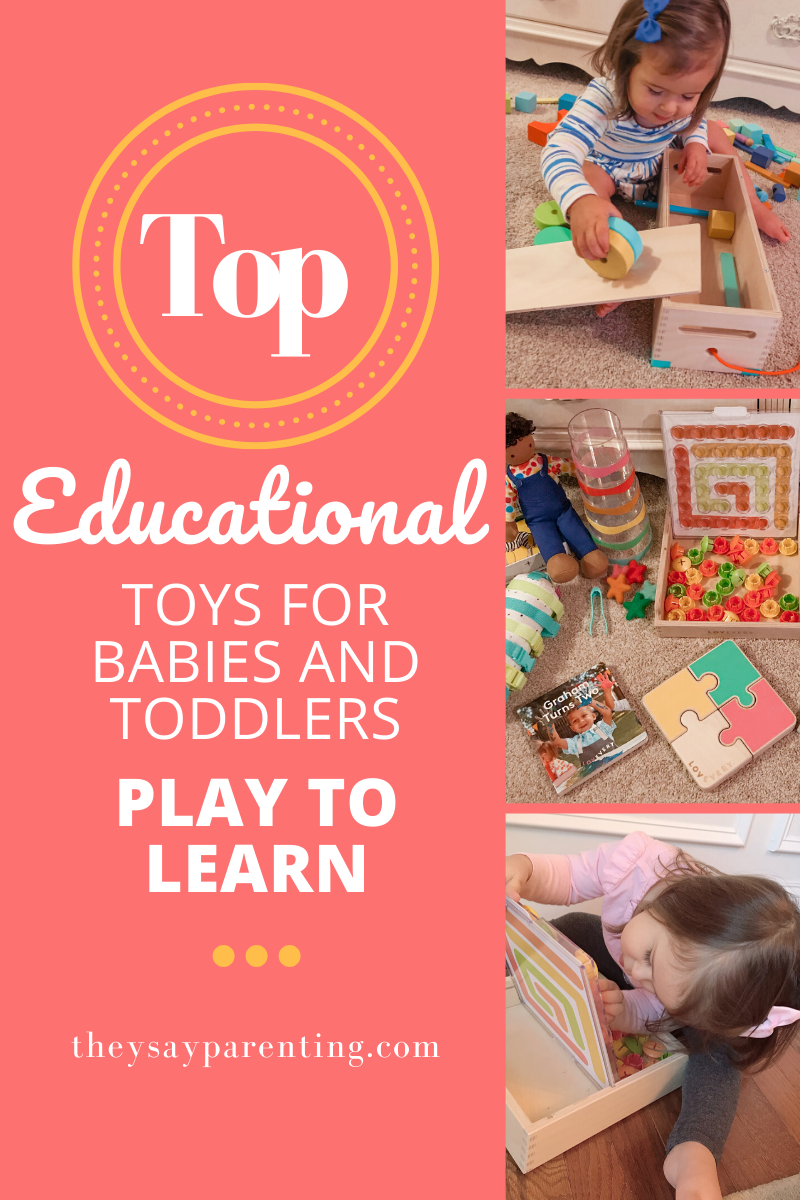 Looking for educational toys for your baby or toddler ...