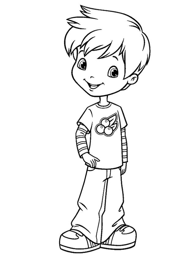 beal mortex coloring pages | print coloring image | Colouring Pages | Strawberry ...