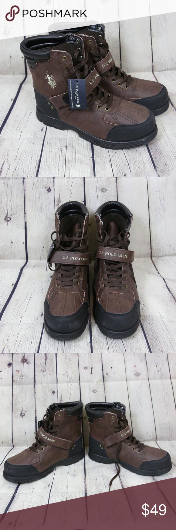 c3756550ad9 U.S. Polo Assn. Shoes | Us Polo Assn Crusade 2 Hi Leather Lace Up ...